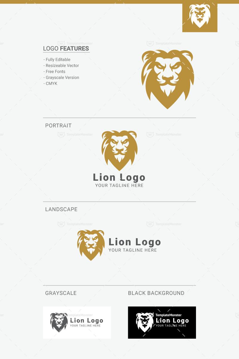 lion logo template 69394