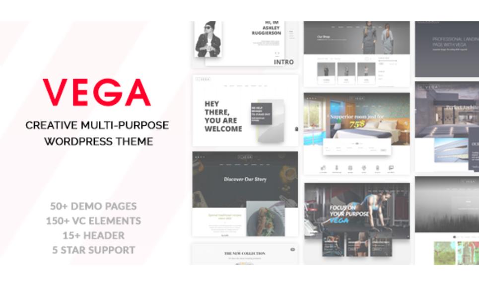Vega - Powerful Multipurpose WordPress Theme