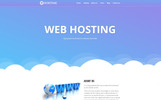 Web Hosting Unbounce Template