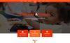 Reszponzív Charity - Unbounce sablon Nagy méretű képernyőkép