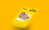 Sea Food Sales Flyer Corporate Identity Template