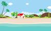 Landscape Flat Design Vector Illustration Big Screenshot