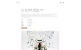 """""""Artis - Minimal Portfolio & Shop"""" thème WordPress Bootstrap"""