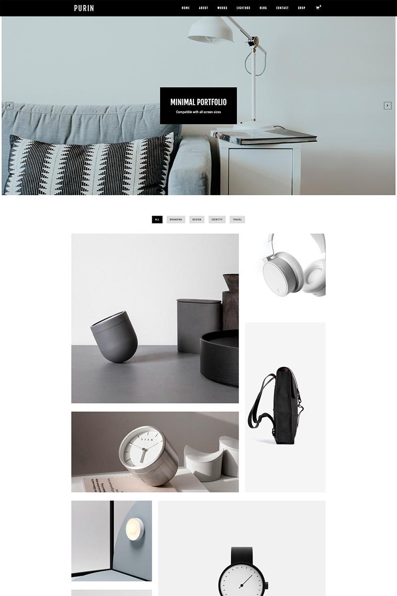 Адаптивный шаблон №80823 на тему дизайн и фотография, архитектура