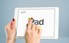 """iPads Mockups"" 产品模型 大的屏幕截图"