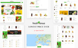 Fresh Avenue - Organic Mega Purpose Store OpenCart Template