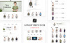 "Template OpenCart #77719 ""Merci Fashion"" Screenshot grande"