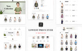 "Template OpenCart #77719 ""Merci Fashion"""