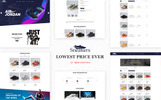 """Sneakers Shoes Store"" thème OpenCart"