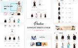 "OpenCart šablona ""Parker Fashion"""