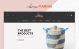 """PrestaShop Theme namens """"Marina Home Decor Furniture Bootstrap Responsive"""""""