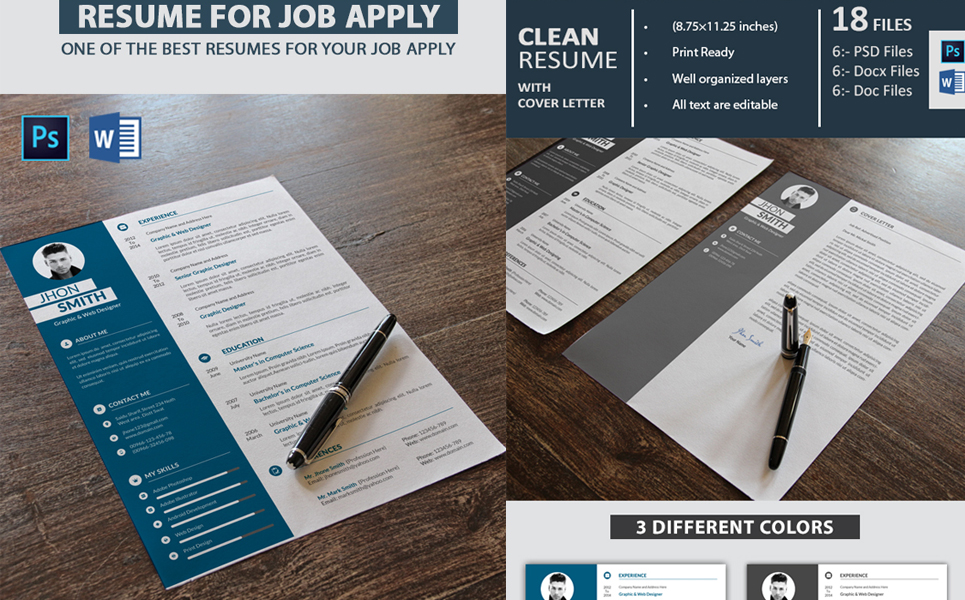 Graphic Designer Resume Template 68136