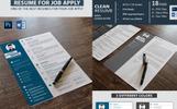 Graphic Designer - Resume Template