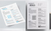 Maraco Desilva Graphic / Web Designer - Resume Template Big Screenshot
