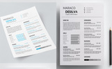 Maraco Desilva Graphic / Web Designer - Resume Template