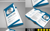 Trifold Resume Template