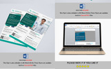 """Corporate Business Flyer -"" Bedrijfsidentiteit template"