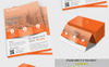 Business Flyer with Business Card Corporate Identity Template Big Screenshot