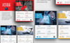 Corporate Flyer for Business Companies Corporate Identity Template Big Screenshot