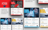 Corporate Flyer for Business Companies Corporate Identity Template