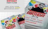 Birthday Party Flyer Corporate Identity Template