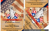 Independence 4th July Party Flyer Corporate Identity Template