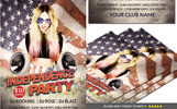 American Independence Day Party Flyer Corporate Identity Template