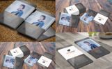 Jhone Deo Corporate Business and Visiting Card Corporate Identity Template