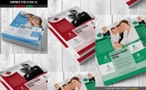 Business Solutions Flyer PSD Corporate Identity Template