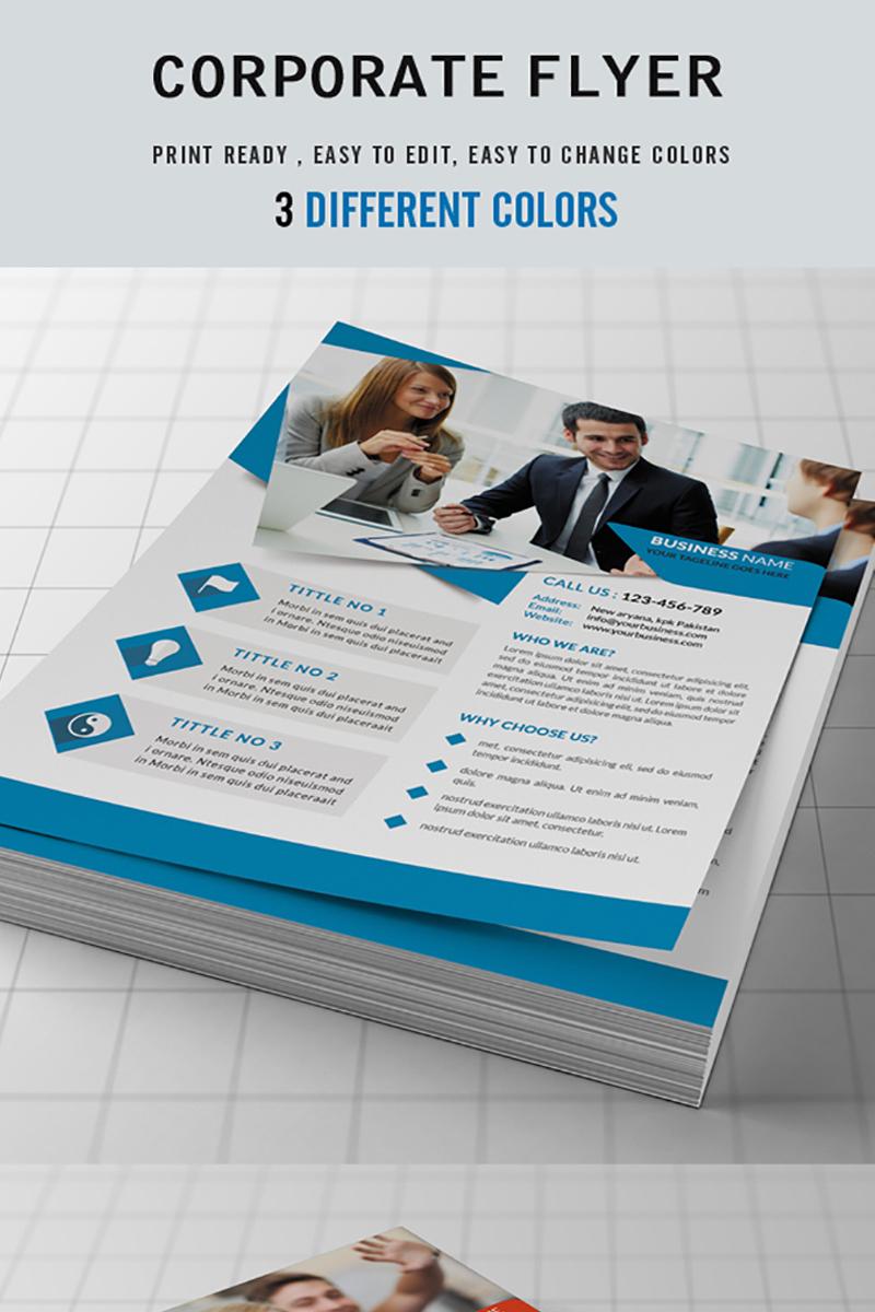 Corporate Business Flyer Corporate Identity Template #72019
