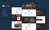 JBfoodasrestaurant PSD Template Big Screenshot