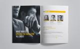 Company Brochure Corporate Identity Template