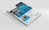 Construction Minimal Flyer Corporate Identity Template