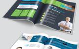 Clean Bifold Brochure Corporate Identity Template