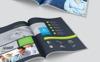 Clean Bifold Brochure Corporate Identity Template Big Screenshot