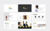 Szablon PowerPoint Activbiz Minimal #81043 Duży zrzut ekranu