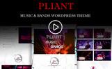 Pliant Music & Bands WordPress Theme