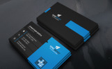 Creative Company Business Card - Corporate Identity Template