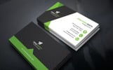 Editable Corporate Business Card Corporate Identity Template