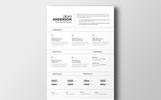 Devid Anderson Önéletrajz sablon
