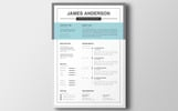 Anderson Resume Template