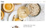 """""""Cukape - Restaurant Cakes and Coffee Shop"""" modèle web"""