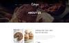 """""""Cukape - Restaurant Cakes and Coffee Shop"""" modèle web  Grande capture d'écran"""