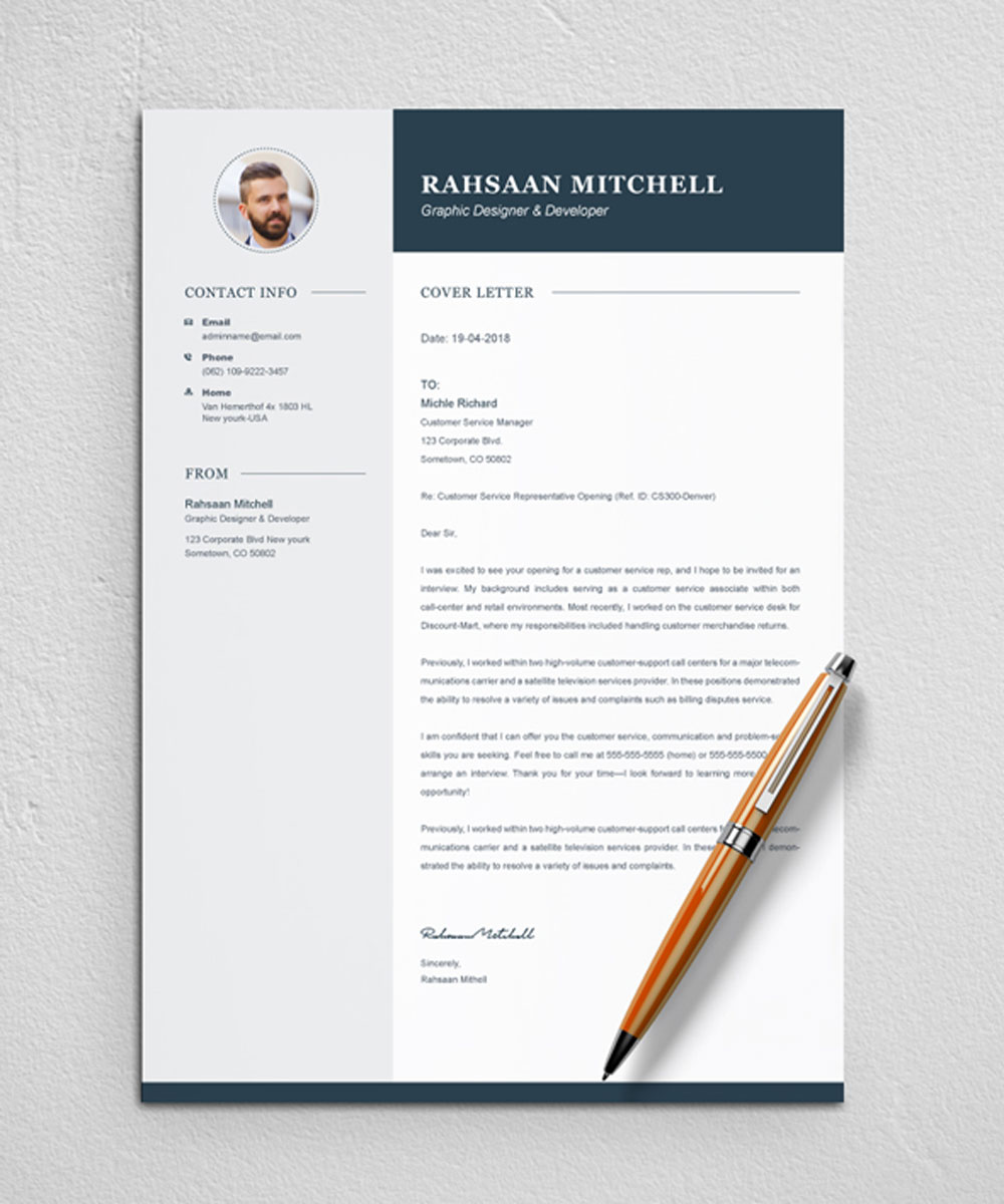rahsaan mitchell resume template  79066