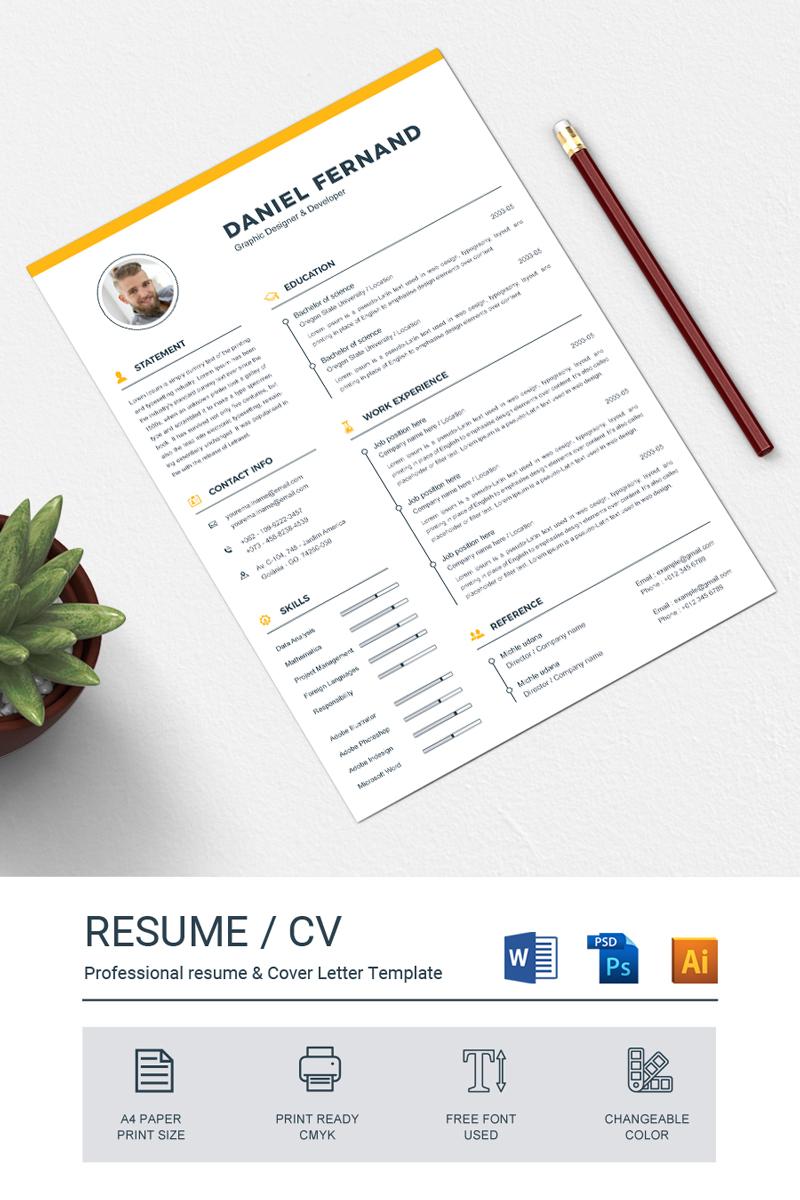 daniel resume template  79803