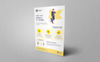 Praxis Corporate Flyer PSD Corporate Identity Template Big Screenshot