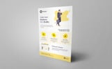 Praxis Corporate Flyer PSD Corporate Identity Template