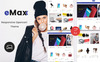eMax - The Shopping Mall OpenCart Template Big Screenshot