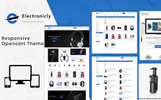 Electronicallly - The Shopping Mall OpenCart Template