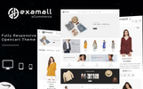 Hexamall - The Shopping Mall OpenCart Template